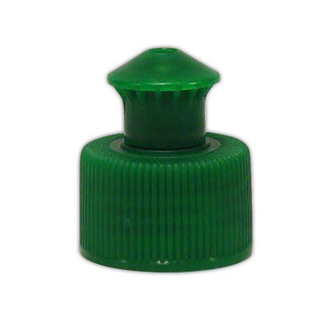 Push-Pull Verschluss für Basis-Flaschen, grün