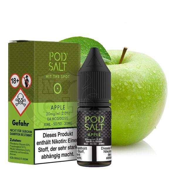 PodSalt Apple Nikotinsalz Liquid 10 ml