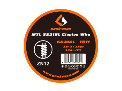 SS MTL Clapton Wickeldraht (SS316L) - ZN12