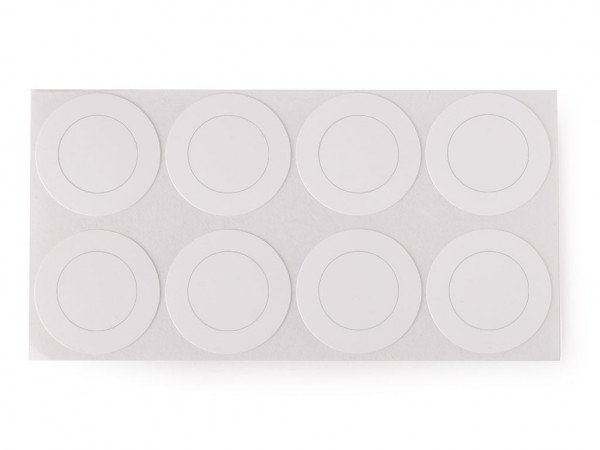 8x HPVC Isolierscheiben ø17 mm für 18650 Zellen
