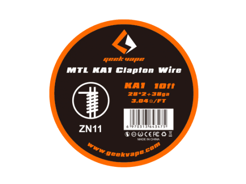 Kanthal MTL Clapton Wickeldraht (KA1) - ZN11