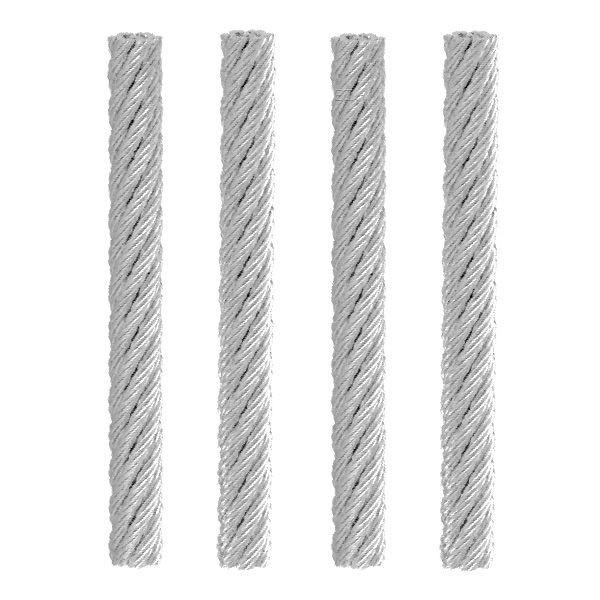4x Vapefly Brunhilde MTL RTA Steel Wire Ersatz Dochte