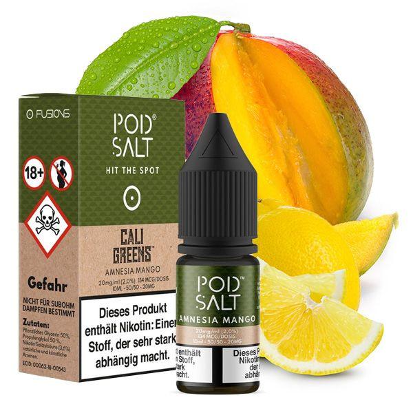 PodSalt Amnesia Mango Nikotinsalz Liquid 10ml